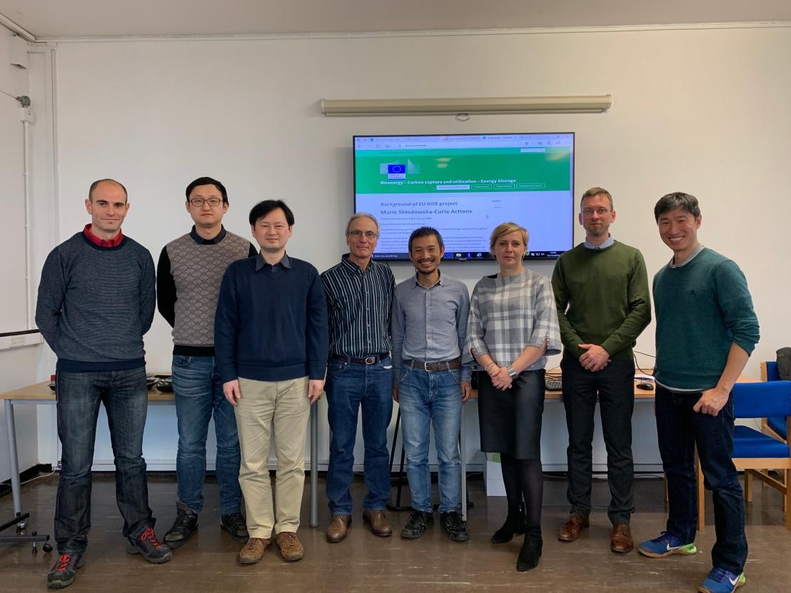 Biomass-CCU ist annual meeting picture